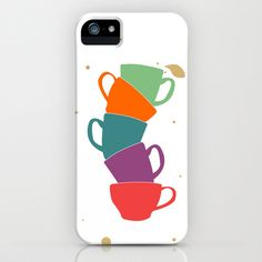 Teacup Madness Phone Case #cup #tea