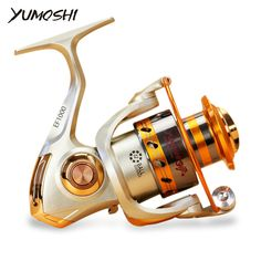 Metal Spinning Fishing Reels Fly Wheel //Price: $69.00 & FREE Shipping //  #exercise