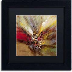 Trademark Fine Art Sunrise Canvas Art by Ricardo Tapia, Black Matte, Black Frame, Size: 16 x 16