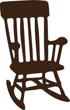 adirondack chair PATTERNS Pinterest Silhouettes Silhouette