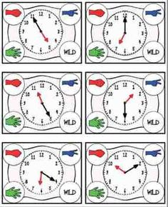Rock, Paper, Scissors: Telling Time {Bundled} CCSS aligned- includes 3 games: telling time to the hour/half hour, telling time to the 5 minute increments, telling time to the nearest minute