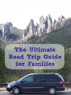 The Ultimate Road Trip Guide for Families -- Packing Tips & Why Getting There is Half the Fun from KC Edventures