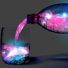 Fancy - Aurora Glowing Cocktail