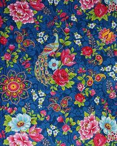 Eijffinger PIP studio behang Flowers in the Mix donker blauw - Google zoeken