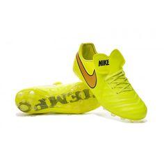 quality design 9880e f172c Nike Tiempo Legend VI AG Blanco Azul Amarillo Botas de fútbol