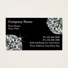 308 best jeweler business cards images on pinterest business cards jeweler business cards reheart Gallery