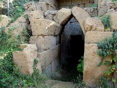 Etruscan tomb. Blera, Tuscany