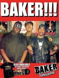 Uma das edições da Revista Baker que mais me chamaram a atenção foi esta que traz em foco uma montagem que juntou o skatista Andrew Reynolds junto com o rapper Tupac e Notorious Big.