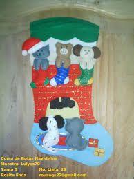 Resultado de imagen para botas navideñas