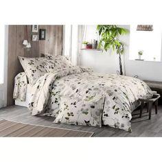 """Parure de Lit """"Nature et Feuillages"""" (Ecru) - Homemaison : vente en ligne parures de lit Comforters, Blanket, Bedroom, Furniture, Collection, Home Decor, Couleur Ecru, Brin, Nature"""