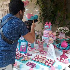 LOL Surprise Doll party setup.