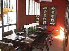 1000 images about living room on pinterest burnt orange for Burnt orange dining room