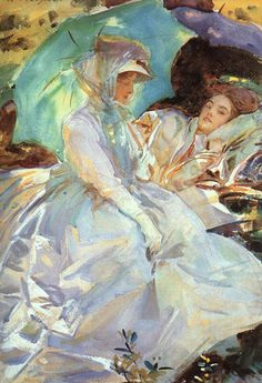 John Singer Sargent was another successful artist who painted mostly society women on commission. He was very talented though.