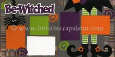 Be-Witched Scrapbook Page Kit