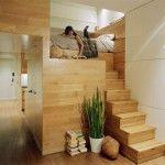 heel klein appartement met optimale opbergruitme