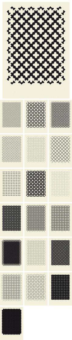 101 pattern explorations by NCLZ