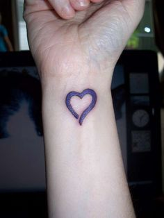 Heart Tattoos On Wrist | Heart Wrist Tattoos – Designs and Ideas