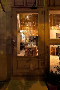 The Capanna Pizzeria Interior Design by K-studio