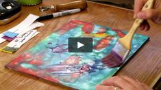 Encaustic is one of the oldest forms of painting, with the mixture applied hot and then reheated to fuse the layers together. It's one of the most forgiving…