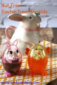 Nut Free Easter Treats for Kids http://madamedeals.com/nut-free-easter-treats-kids/ #easter #inspireothers