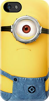 Funny Cute Cyclops Despicable Me Minion - Apple iPhone 5 or iphone 4 4s