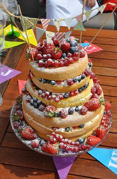 Recette Naked Cake français