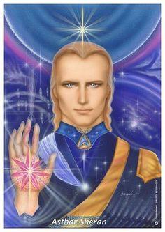 ஜarcanjos/anjos/família galáctica - ASHTAR SHERAN (Arcanjo Miguel) - Intergalactic commander
