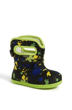 Bogs 'Paint Splat' Rain Boot (Baby, Walker & Toddler) available at #Nordstrom