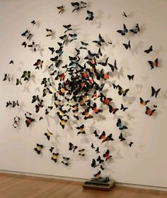 Ten Most Creative Uses for Old Vinyl Records Ten Most Creative Uses for Old Vinyl Records Vinyl Record Crafts, Old Vinyl Records, Vinyl Art, Vinyl Music, Instalation Art, Butterfly Decorations, Butterfly Art, Paper Butterflies, Beautiful Butterflies