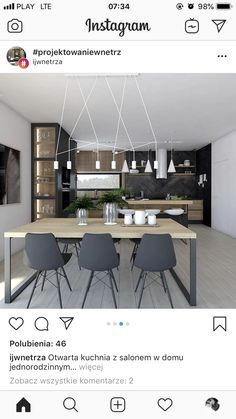 Small U Shaped Kitchens, Apartment Projects, Modern Kitchen Design, Home Interior Design, Living Room Designs, Kitchen Decor, Sweet Home, Room Decor, House Design