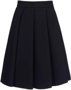 J.w. Anderson Black Knee Length Skirt