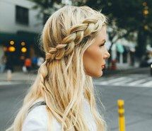 Inspiring image blonde, braid, curly hair, girl, hair, hairstyle, long hair #3513400 by loren@ - Resolution 793x797px - Find the image to your taste