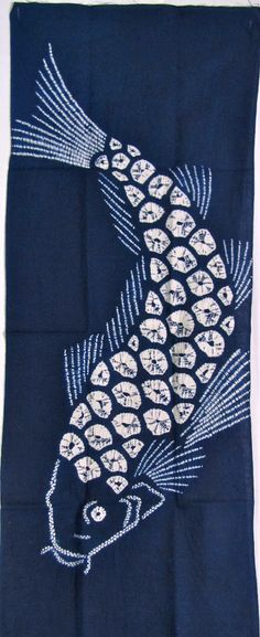 Shibori tengui from Arimatsu, Japan  mosaic idea.....
