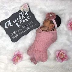 Baby Name Sign, Baby Hospital Name sign with stats Goddaughter Gifts, Niece Gifts, Auntie Gifts, Friend Gifts, Baby Girl Photos, Newborn Photos, Baby Name Signs, Baby Names, Newborn Gifts