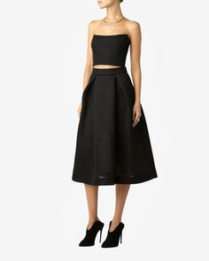 Nicholas Mesh Ball Skirt at INTERMIX   Shop Now   Shop IntermixOnline.com