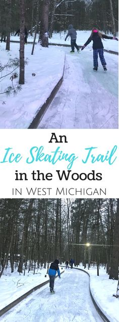 Learn more about an ice skating trail in the woods located in West Michigan at Muskegon Winter Sports Complex.