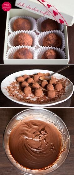 Delicious vegan chocolate truffles. Super easy to make and super addictive. Perfect with an espresso or an evening brandy.