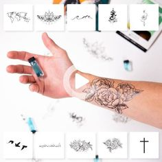 """$35 - Pack of Ten Tattoos Description Our best sellers, all in 1 pack. Product Details Contains Ten Momentary Ink Tattoos Sizes vary between1.0"""" - 5.5"""" Includes Real Teal and instructions Real Tattoo, Tattoo Set, Diy Tattoo, Tattoo Fonts, Tattoo Ideas, Custom Temporary Tattoos, Custom Tattoo, Tattoos For Guys, Tattoos For Women"""