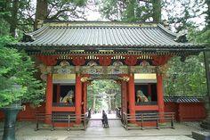 Nikkō Tōshō-gū's omote-mon