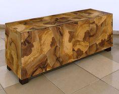 wood veneer finish cabinet