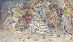 """Annie French (1872-1965), """"Christmas"""", 1945 by sofi01, via Flickr"""