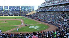 April 3, 2016 - Opening Day at Estadio de Beisbol Monterrey, the home of the Sultanes de Monterrey of the AAA Mexican League.