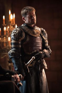 Jaime Lannister GoT Game of Thrones-Dragonstone episode Game Of Thrones Jaime, Arte Game Of Thrones, Game Of Thrones Costumes, Jaime Lannister, Cersei Lannister, Lannister Song, Winter Is Here, Winter Is Coming, Game Of Trone