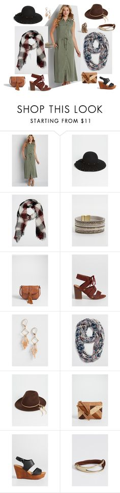 """""""one dress, two ways!"""" by oneontamaurices on Polyvore featuring maurices"""