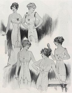 corsets and chemises