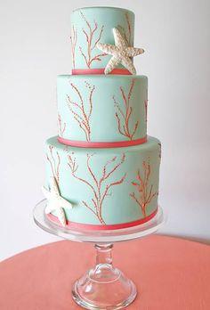 Beach Themed Wedding Cakes | Wedding Ideas | Brides.com