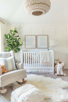 White Nursery, Nursery Neutral, Blue Nursery Girl, Blue Nursery Ideas, Light Blue Nursery, Neutral Nurseries, Baby Room Design, Nursery Design, Nursery Themes