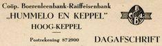 Begin dit jaar is de inventarisatie van het archief van Rabobank Graafschap Midden afgerond. Dit archief gaat terug tot 1897, de tijd dat de Coöperatieve Boerenleenbank te Angerlo, één van de eerste Boerenleenbanken in Nederland was, en eindigt in 2015.