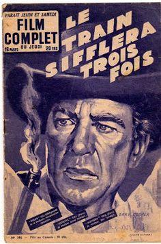 HIGH NOON (1952) - Gary Cooper - French movie magazine