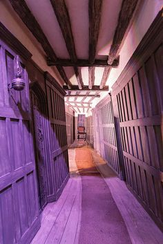 Inside the Leaky Cauldron by travellingred, via Flickr